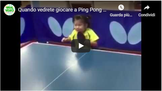 video sportivi-ping pong
