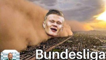 uragano Haaland-Bundesliga
