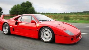 Jean Alesi, Ferrari F40