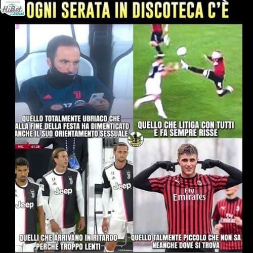 Il meglio di Juve-Milan