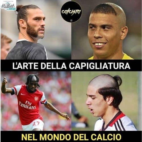 Capelli di Ronaldo