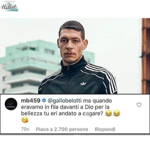 commenti tra calciatori