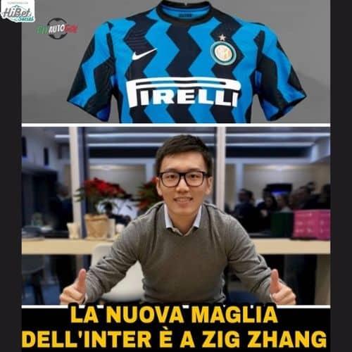 nuova maglia dell'Inter
