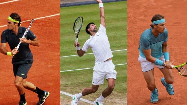 Djokovic Nadal Federer
