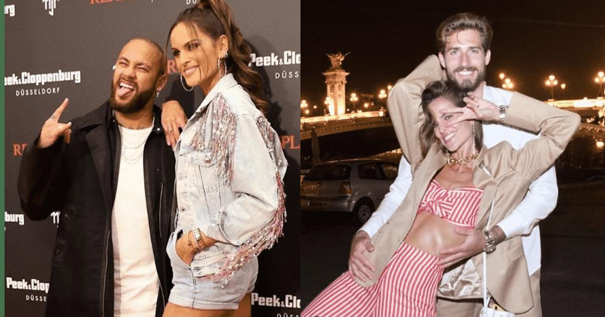 Neymar e la fidanzata di Trapp