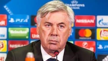 conferenza stampa ancelotti - everton