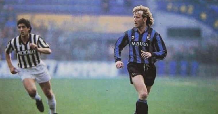 la gaffe di Andreas Brehme ex dell'Inter