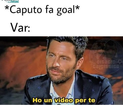 Spezia-Sassuolo: il Var annulla 3 gol di Caputo