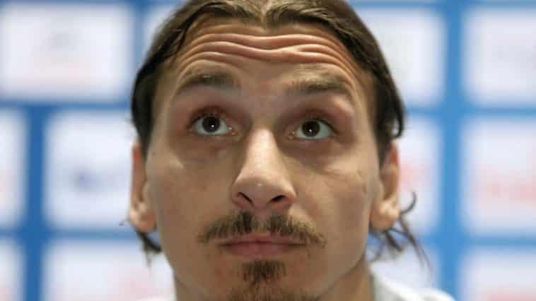 Zlatan Ibrahimovc, calciatore del Milan, è positivo al Covid