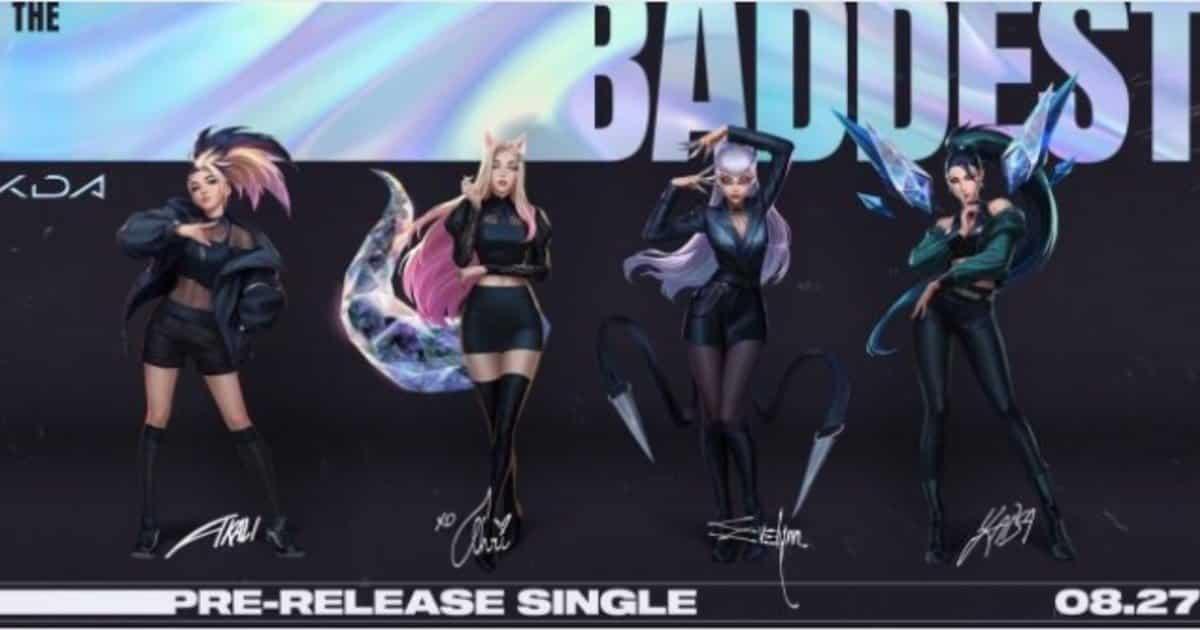 Le K/DA sono tornate ufficialmente con un nuovo singolo!