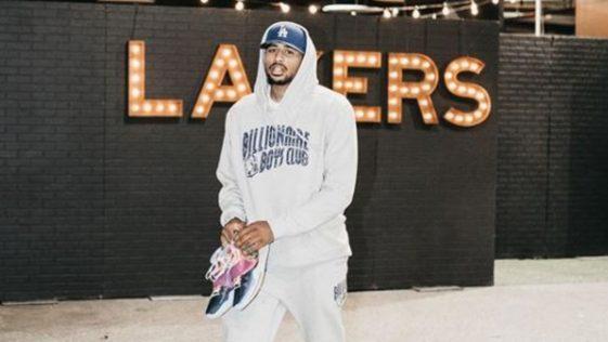 il rookie dei Los Angeles talen horton-trucker non beve vino a differenza di LeBron Lakers,