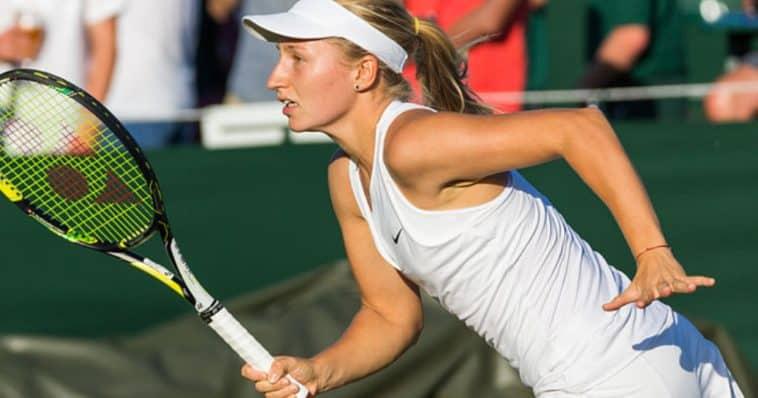 Daria Gavrilova e la gaffe agli Austalian open 2016