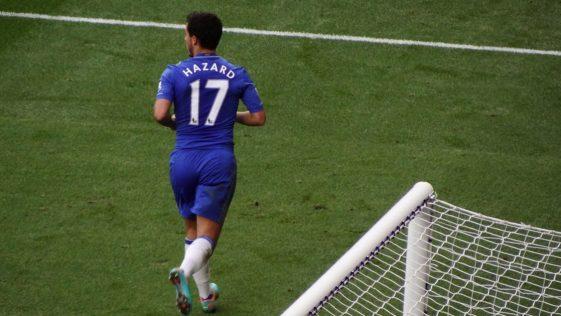 Eden Hazard, attuale Real Madrid, ha mangiato un hamburger durante la partita
