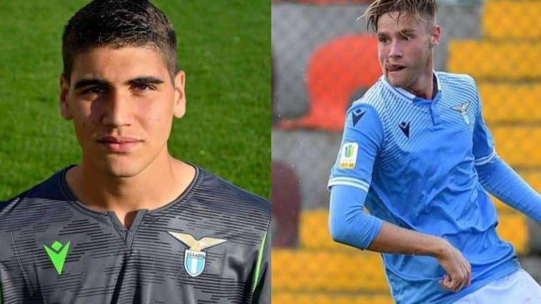 Figli dei calciatori della Lazio: Peruzzi e Tare
