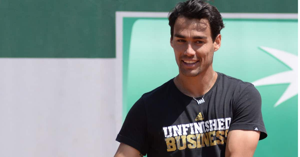 FabioFognini positivo al Covid non parteiperà all'ATP 250