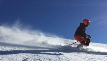 Adrian Solano ha partecipato ai Mondiali di sci ma non sapeva sciare