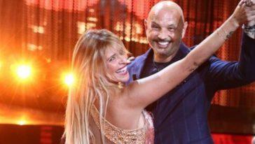 Sinisa Mihajlovic a Ballando con le stelle insieme ad Arianna
