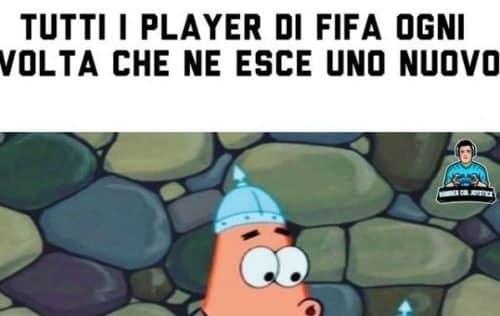 I player di Fifa: il meme