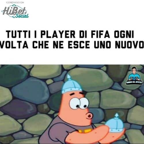 I player di Fifa: il meme