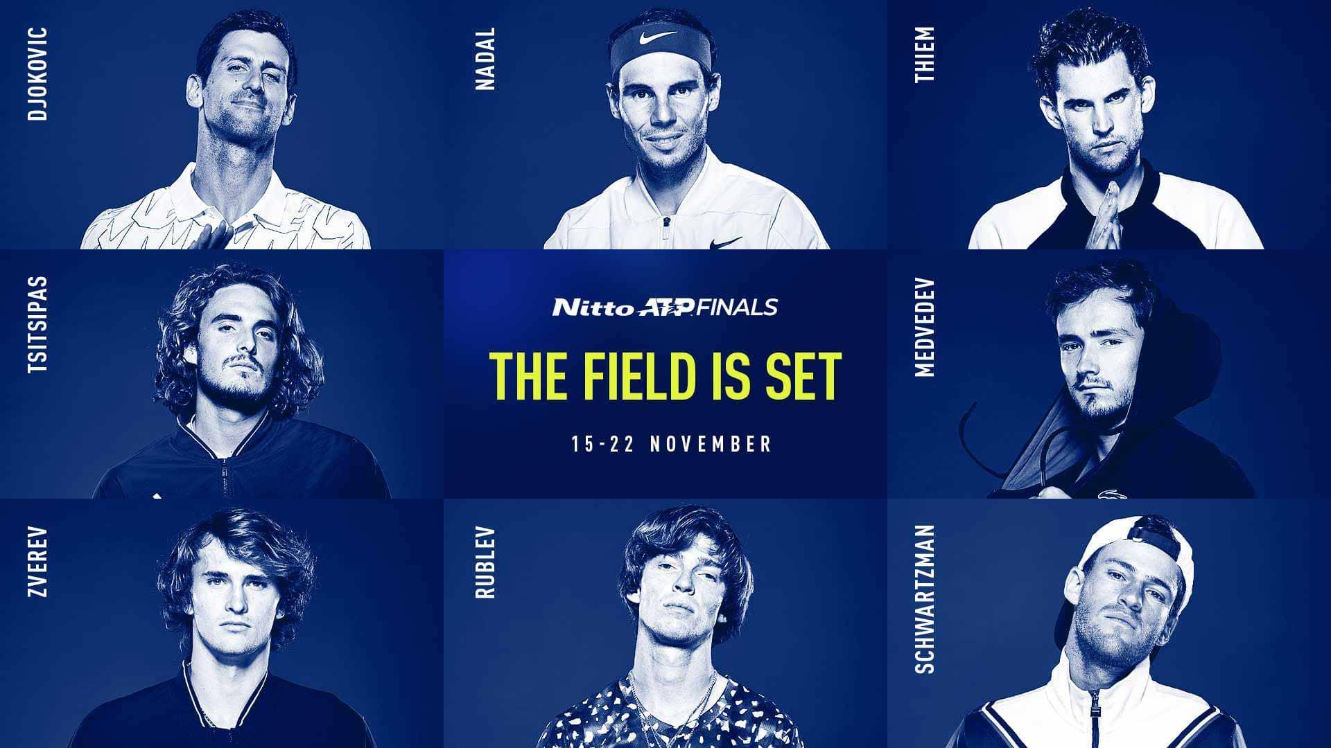 ATP Finals 2020, la guida all'ultima parata di stelle