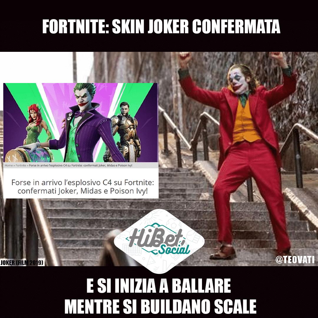 Fortnite: skin Joker confermata