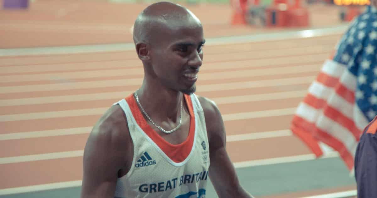 Mo Farah, campione dei 5000m, potrebbe mettersi in gioco in un reality show...