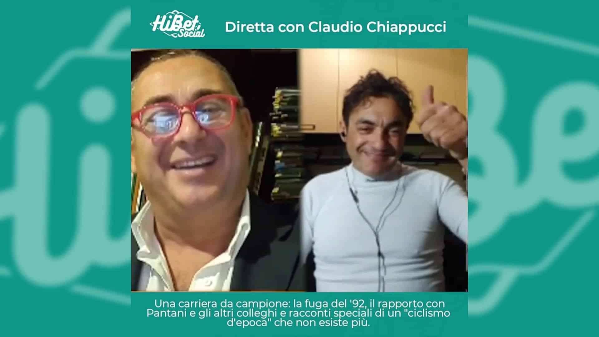 La nostra diretta con Claudio Chiappucci, uno dei più grandi ciclisti italiani
