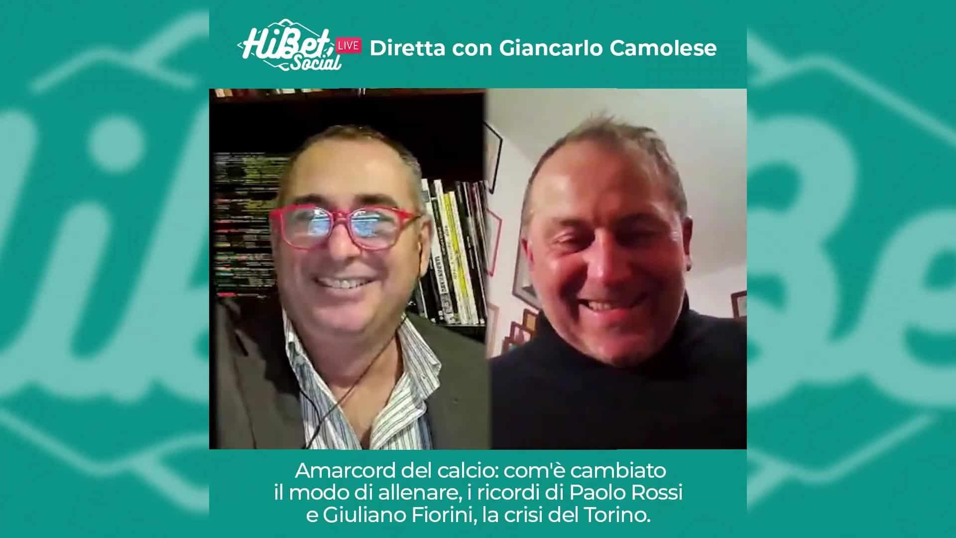 La nostra chiacchierata con Giancarlo Camolese. La crisi del Torino ed i ricordi di Paolo Rossi e Fiorini.