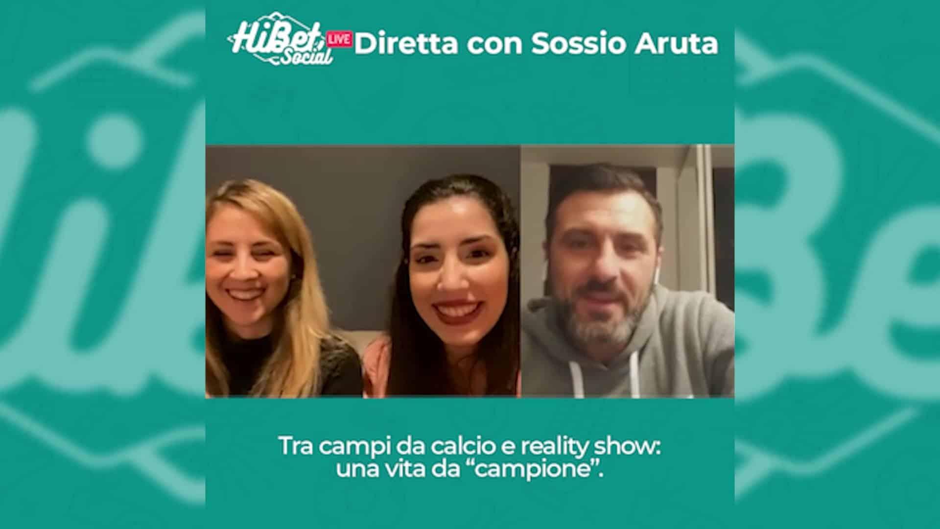 Diretta con Sossio Aruta protagonisa di reality come Campioni, Uomini e Donne, Temptation Island, Gf Vip