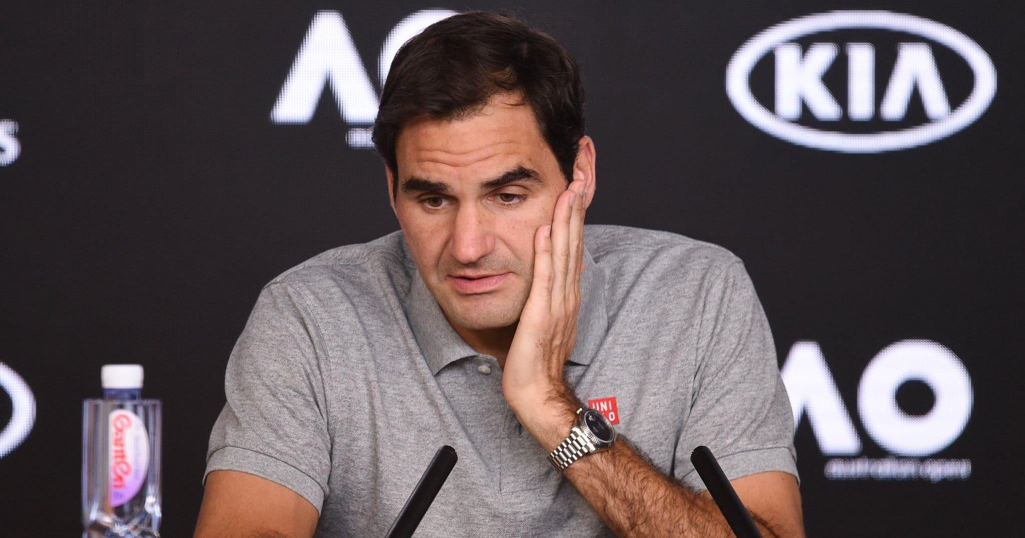 """Federer salta gli Australian Open: """"Ha bisogno di tempo e di lavoro"""""""
