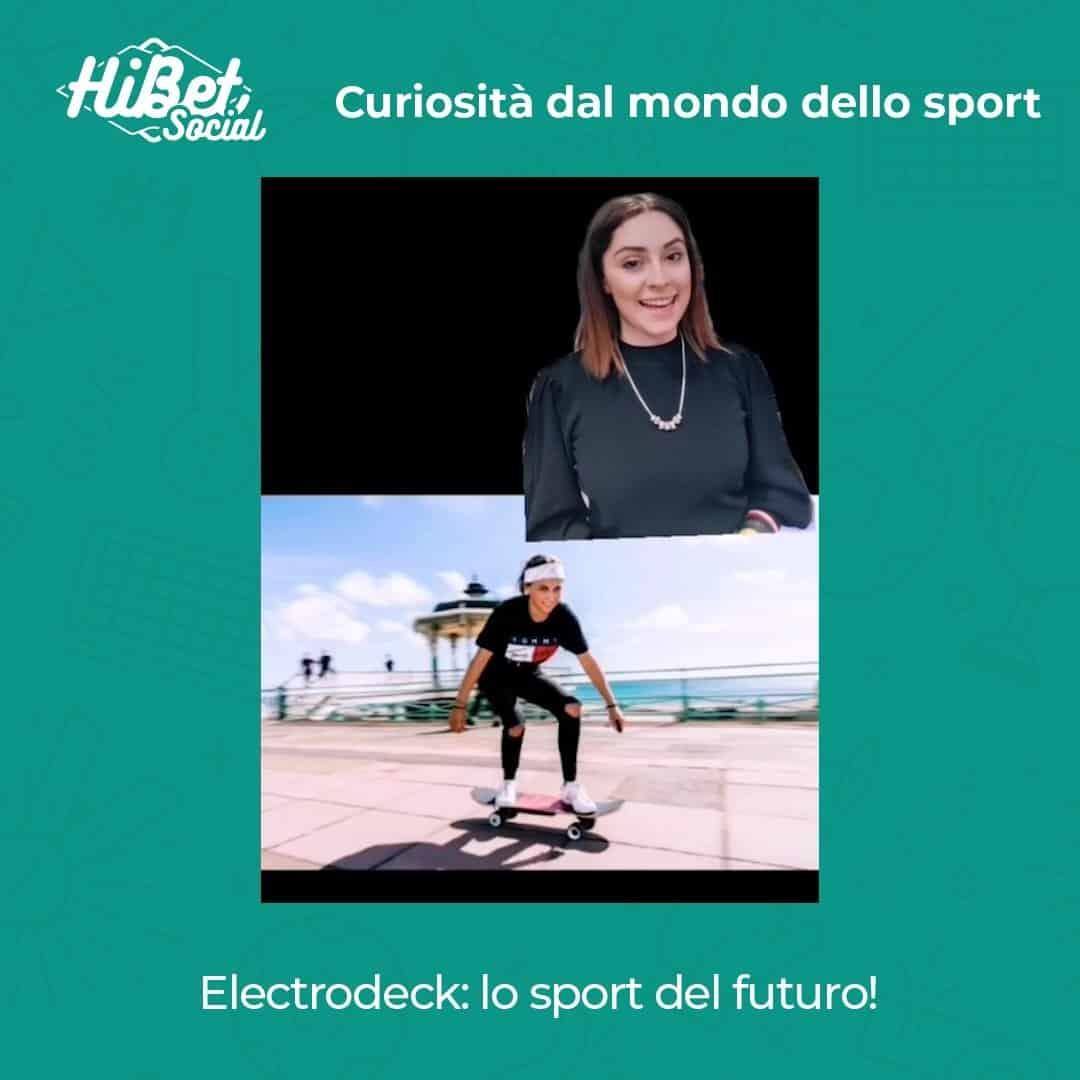 Charlotte Geary ha inventato l'Electrodeck, lo sport del futuro!