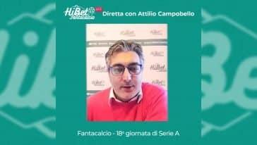 Consigli sulla 18esima giornata di Serie A