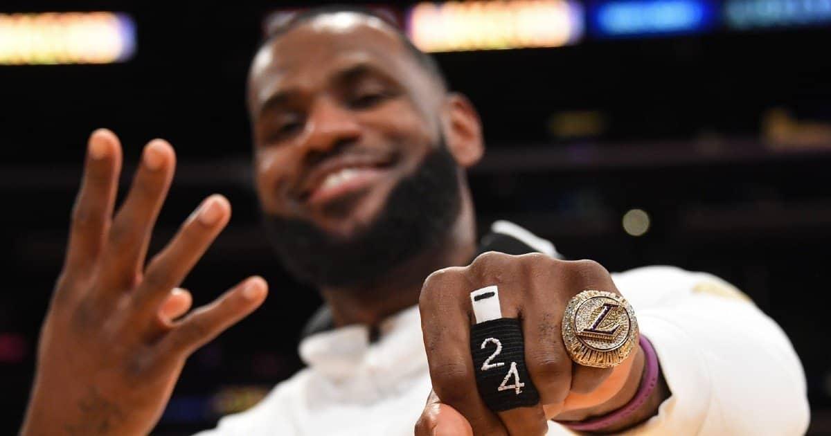Tutto sull'anello NBA vinto dai Los Angeles Lakers, C'è anche lo zampino di Kobe Bryant