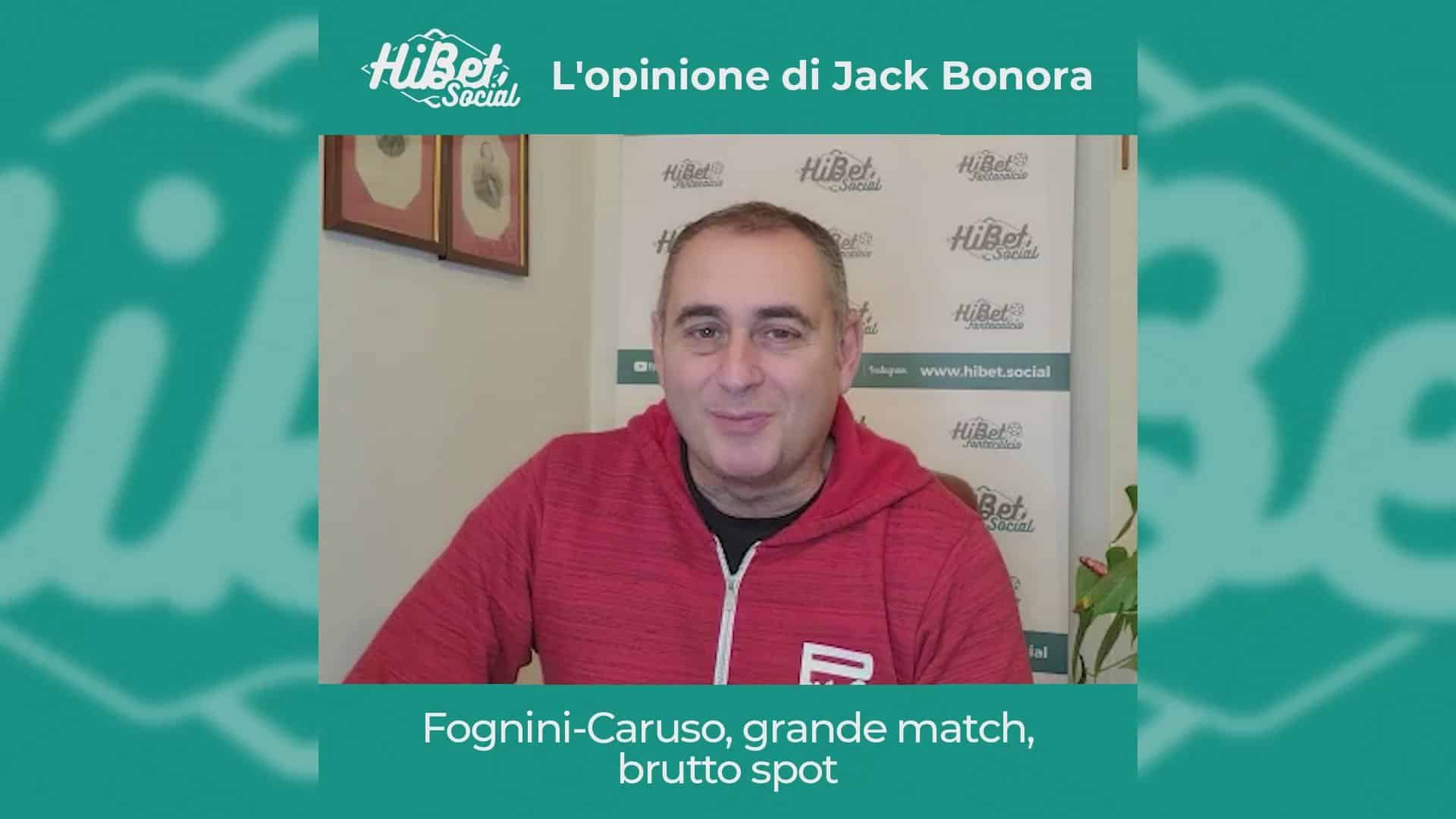 l match tra Salvatore Caruso e Fabio Fognini agli Australian Open ha fatto discutere