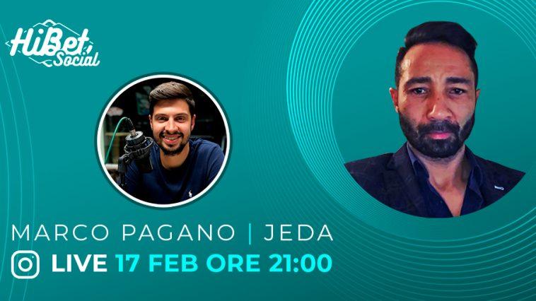 Diamo il benvenuto a Maroc Pagano in vista della diretta con Jeda