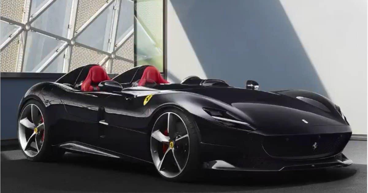 Supercar da 1,6 milioni per Ibrahimovic: la Ferrari Monza.