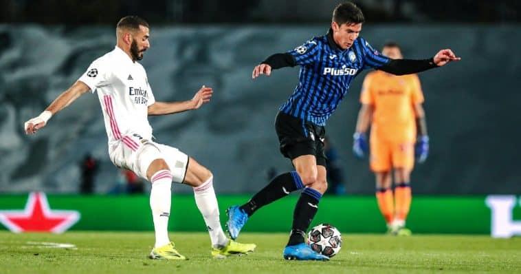 Il Real Madrid batte l'Atalanta ed esce dalla Champions League