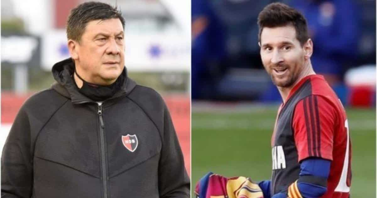 "El Mono Burgos 'chiama' Messi: ""Finirà la carriera al Newell's Old Boys"""