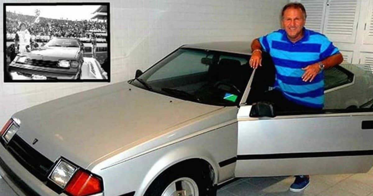 Un amore così grande: Zico e la sua Toyota Celica.