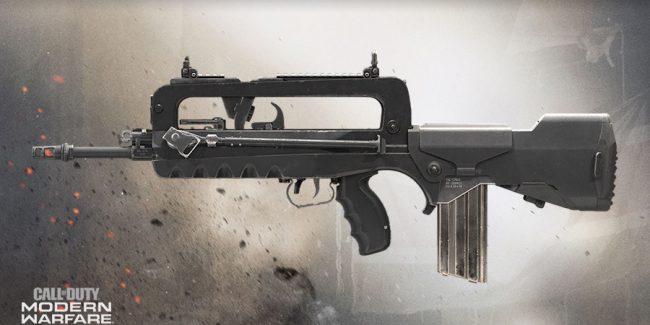 aug m16 FR 5.56 warzone