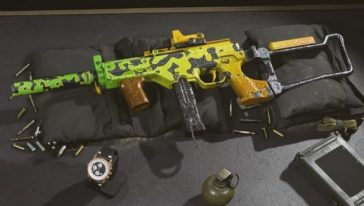 Warzone LC10 SMG