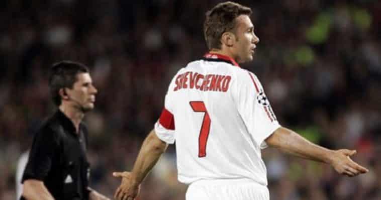 Milan Liverpool shevchenko