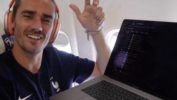 Griezmann mbappè newcastle football manager share hibet social