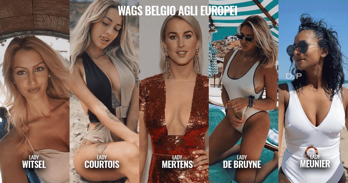 Euro2021 - Le WAGS più belle del Belgio