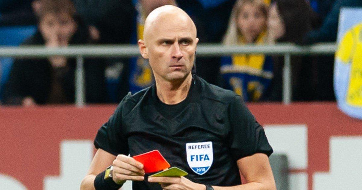 Sergej Karasev arbitro italia svizzera share hibet social