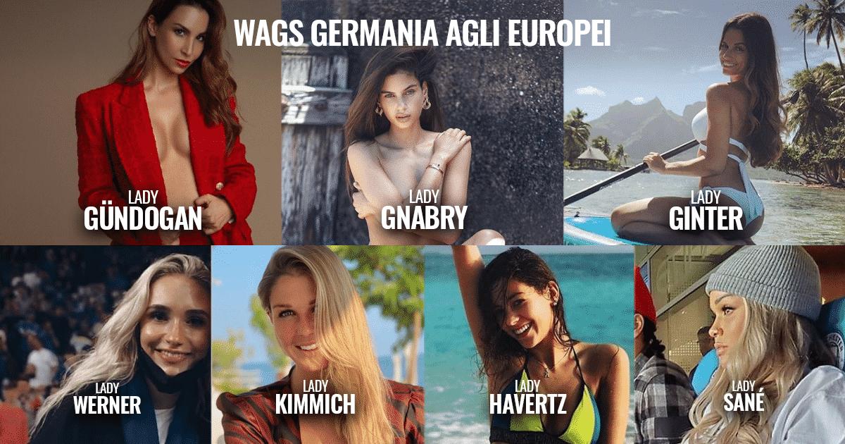 Euro2021 - Le WAGS più belle della Germania