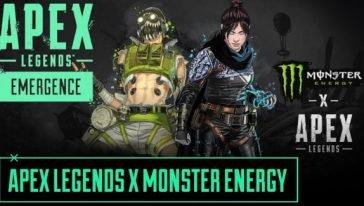 Apex legends Monster share hibet social