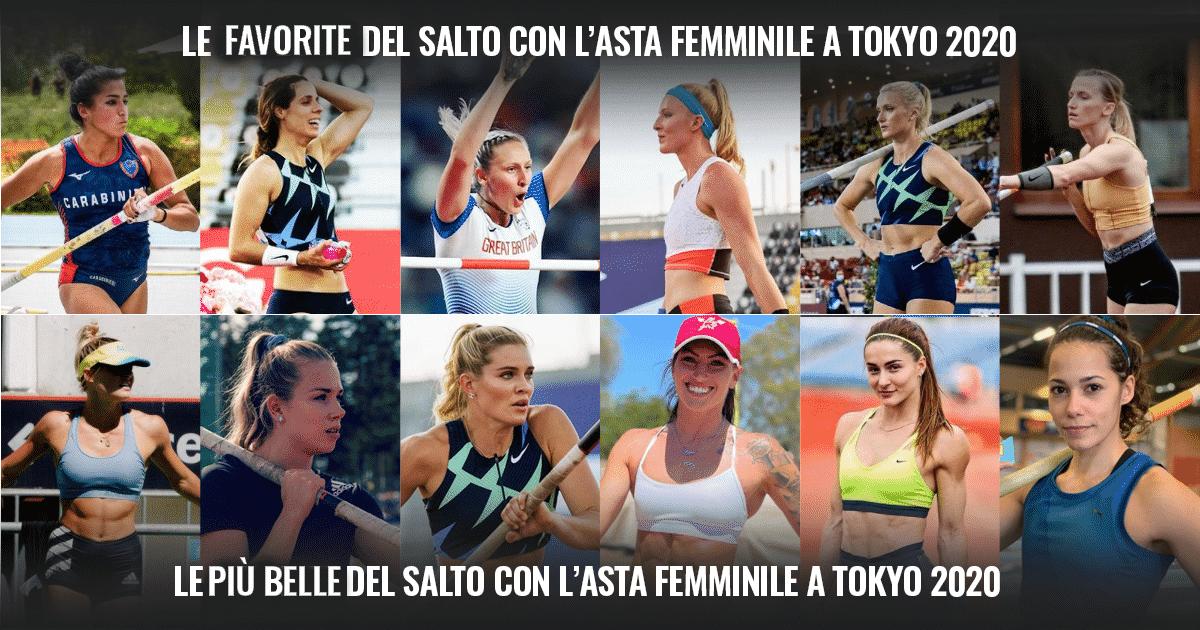 Il salto con l'asta femminile alle Olimpiadi: le italiane in gara, le favorite e le più belle!