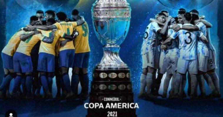copa america Argentina Brasile share hibet social