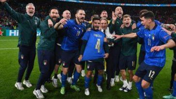 L'Italia di Mancini batte la Spagna e vola in finale agli Europei.